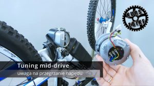 KURS eBIKE - lekcja 10 - Napęd centralny / mid-drive