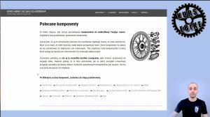 KURS eBIKE - lekcja 15 - Dobór komponentów i osprzętu do elektryfikacji roweru